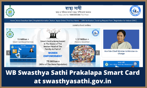 WB Swasthya Sathi Prakalapa Smart Card at swasthyasathi.gov.in
